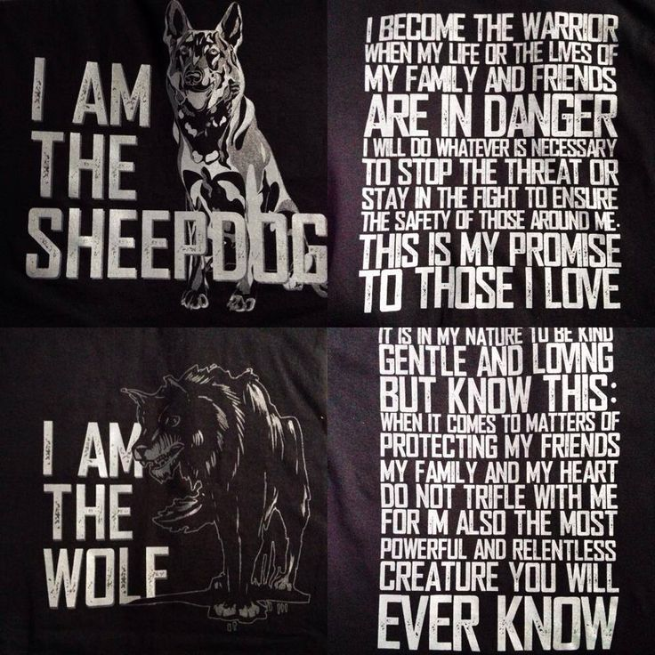 This is me! I am the wolf. I will be the one standing guard while my friends and family sleep at night.