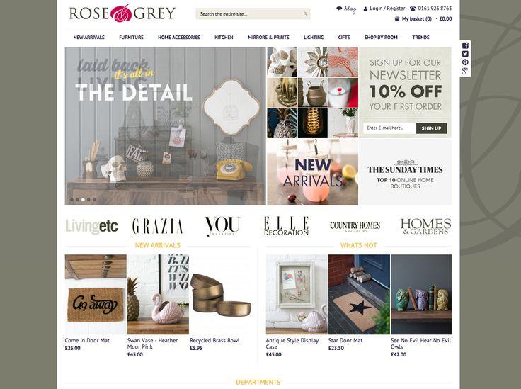 Rose Grey homepage