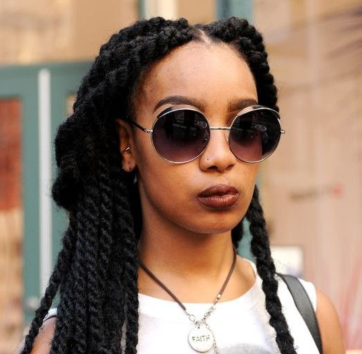 Winter Natural Hair Care - Senegalese Twists