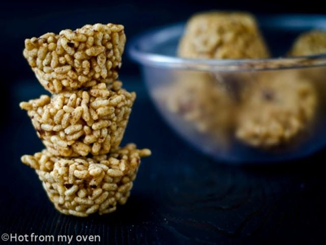 Healthy Rice Krispie Treats with Dates   Hot from my oven