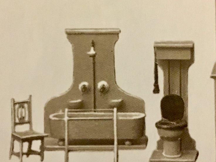 badezimmerm bel ab 1921 moritz gottschalk casitas pinterest dollhouses and dolls. Black Bedroom Furniture Sets. Home Design Ideas