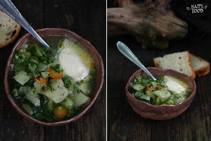 Капустный суп с рисом - HAPPYFOOD