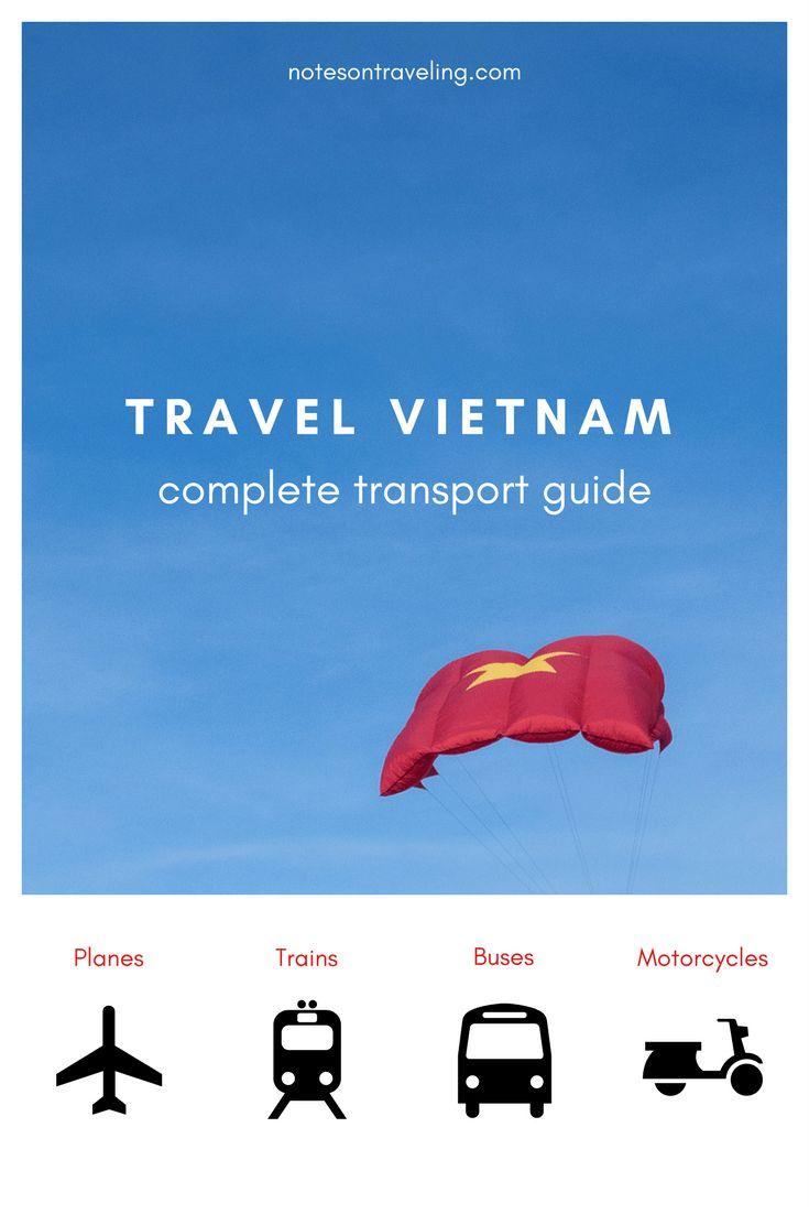 Viaja a Vietnam en avión, tren, autobús y motocicleta