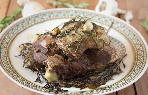 Slow roasted leg lamb - adapted Jaime