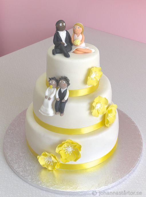 Dop- och bröllopstårta