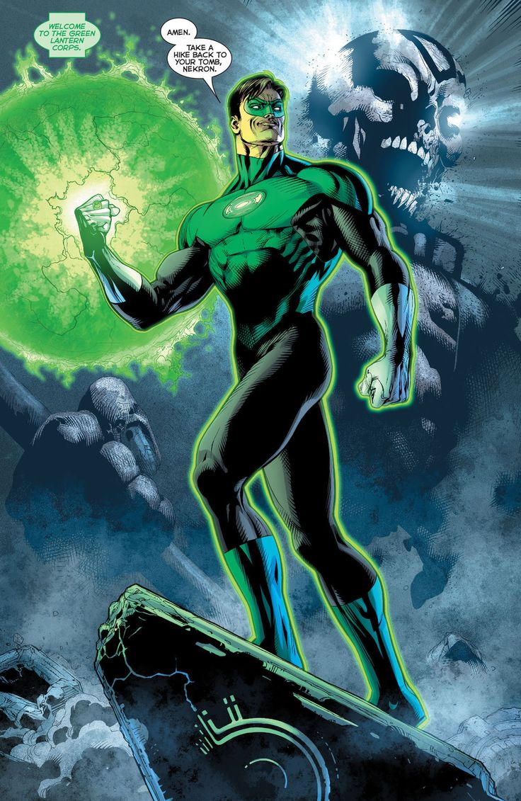 Hal Jordan is the most well-known Green Lantern. He was the first earthman ever…