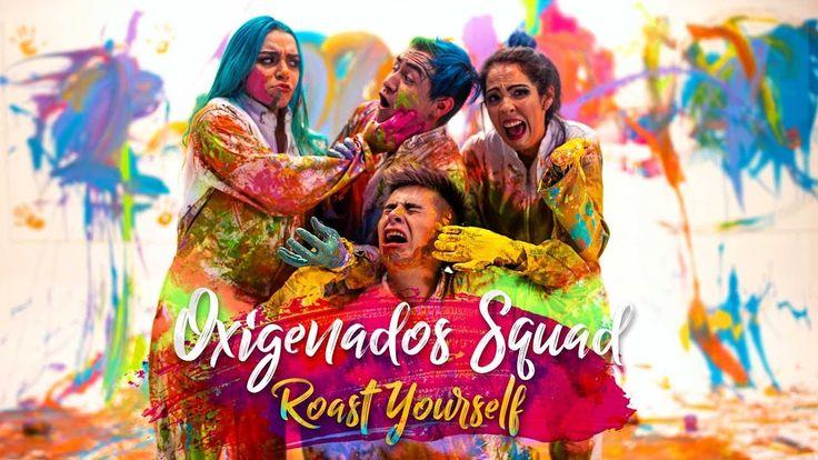 Fondos De Youtubers: ROAST YOURSELF CHALLENGE L Oxigenados Squad