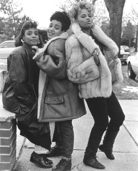 SALT-N-PEPPER (Rappers Delight Photo Series) Cheryl James, Sandra Denton, and Deidra Roper
