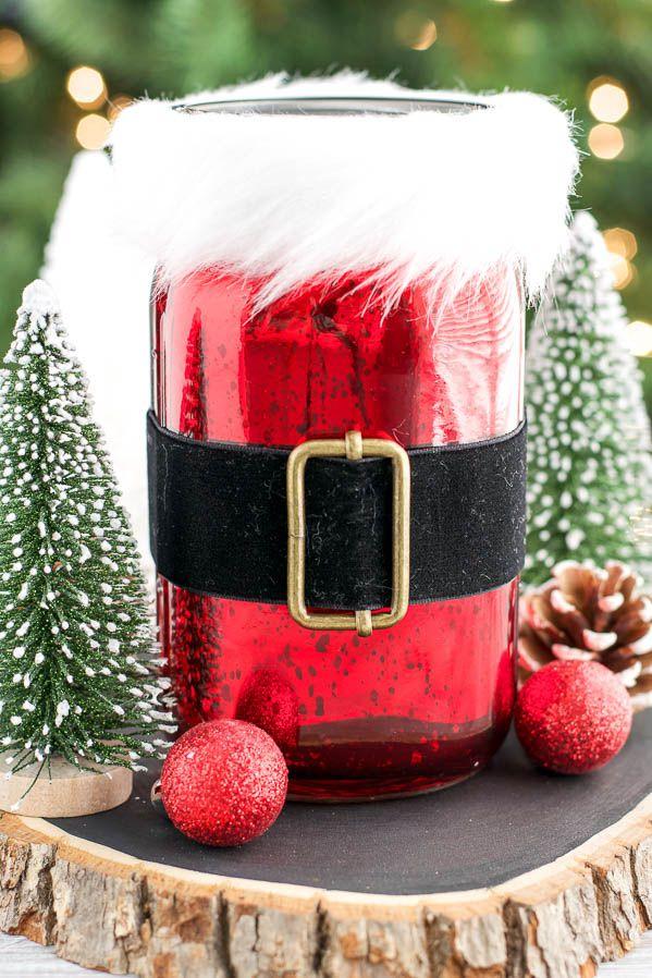 Santa Gift Jar