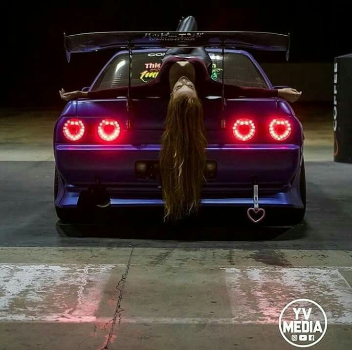 Beautiful R32 Nissan Skyline With Images Jdm Girls Car