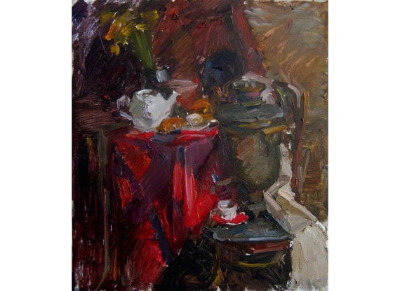 Original Oil Painting. Still life by OilOxOil on Etsy, $170.00