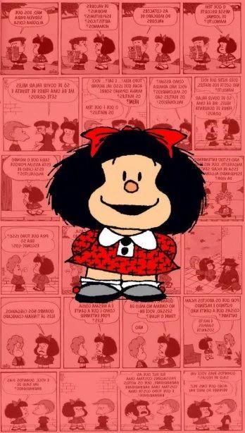 Wallpaper. Mafalda.