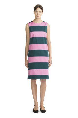 Marimekko Louvre Dress Deep Teal/Pink   Kiitos Marimekko