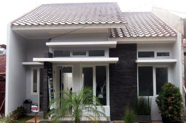 60 Gambar Tampak Depan Rumah Minimalis 1 Lantai - Sebuah ...