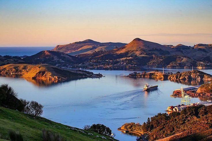 PORT CHALMERS Dunedin, New Zealand.