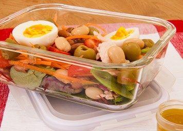 #tuna #salad #lunchbox #lunch #lunchinspiration