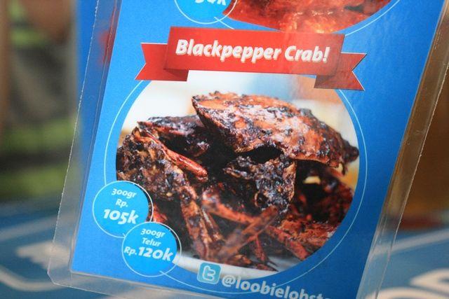 Blackpepper crab