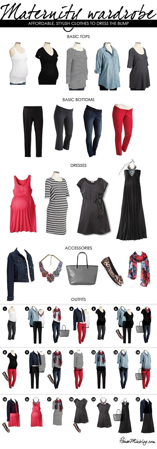 Building an affordable maternity wardrobe | House Mix
