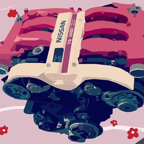 【_crvn_】さんのInstagramをピンしています。 《Hey night grammers, here's part 2 of the triple monitor. . . . #Nissan#300ZX#Z32#FairladyZ#AMSMotorsports#Zociety#HKSJapan#NaritaDogfight#BattleStance#MaximumAttack#Speedhunters#ItStartedInJapan#NightRunner#NoClub#ShakotanWarrior#YokosukaMade#OmgBecky#omwtfyb#LegendsNeverDie#HKSZ32#Render #cherryblossoms #jdm #3000 #twincam #v6 #twinturbo》