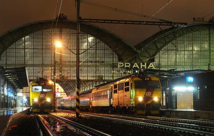 Prague railstation