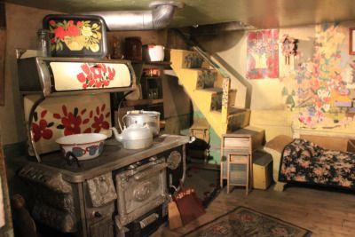 Maud Lewis House.  The Art Gallery Of Nova Scotia  Halifax, Nova Scotia, Canada.  Bryson Syliboy Photography