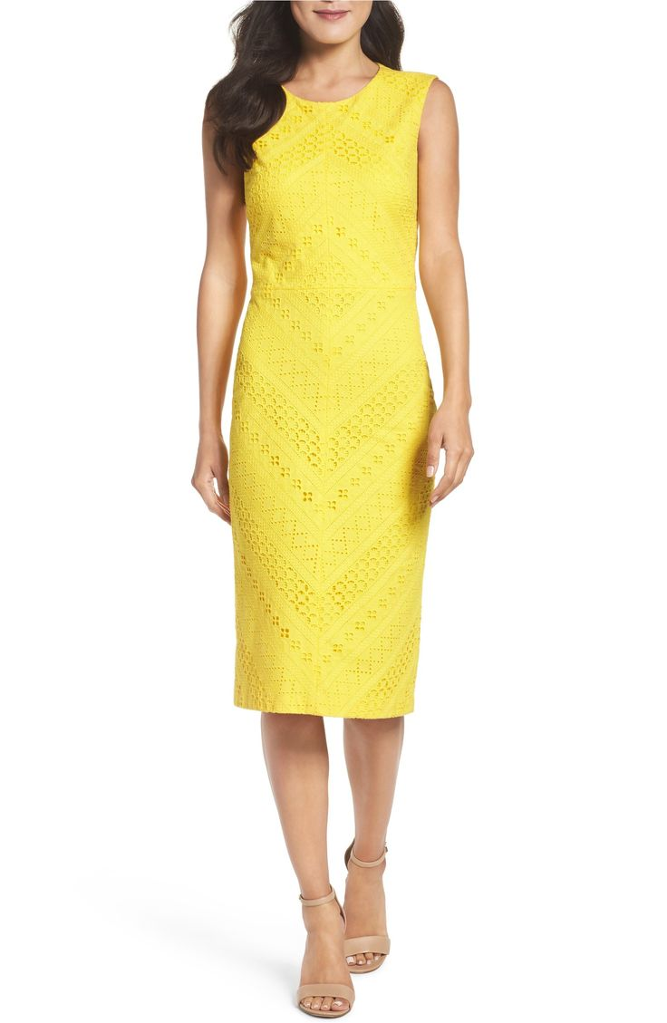 Main Image - Maggy London Lace Sheath Dress