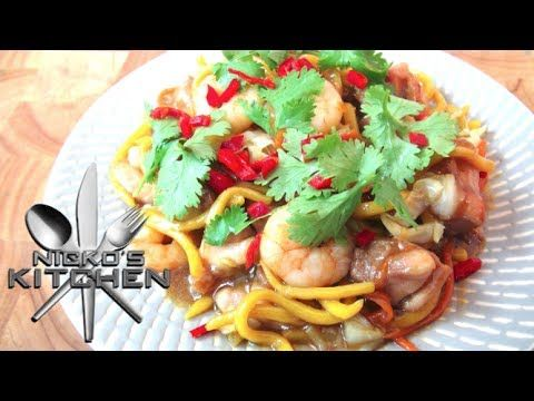 Hailam Chicken Noodles (Malaysian Cuisine) - Video Recipe