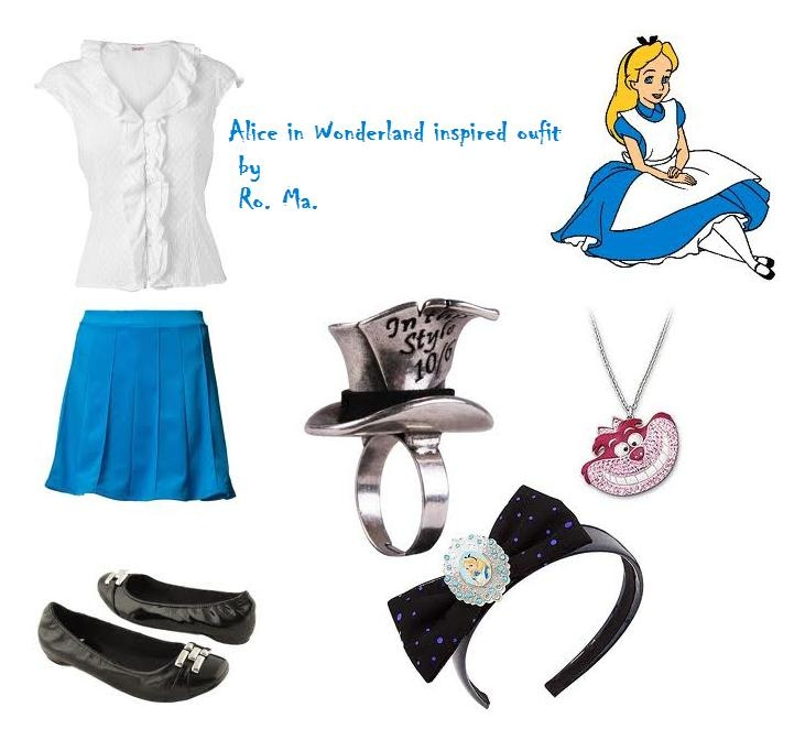 an alice in wonderland inspired outfit alice  alice