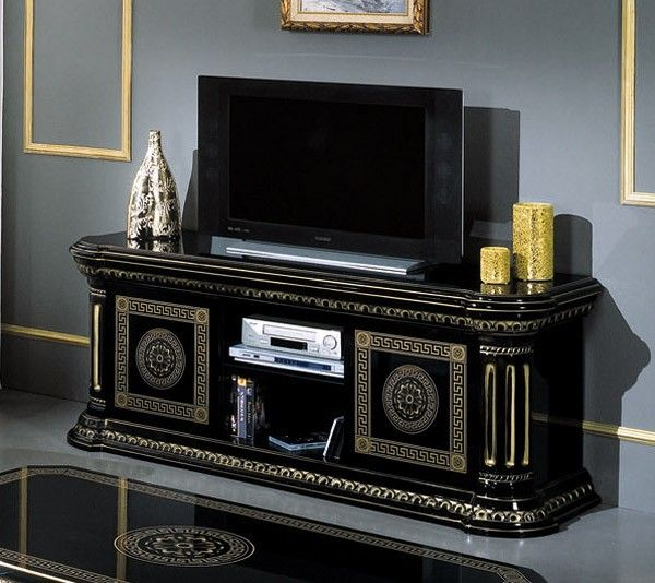 Rossella Italian Classic Black Entertainment Center. Black Entertainment  CentersEntertainment FurnitureTv ...
