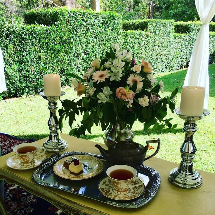 What a Perfect Afternoon Garden Tea Party Looks Like | So Relaxing | Evergreen Garden Venue