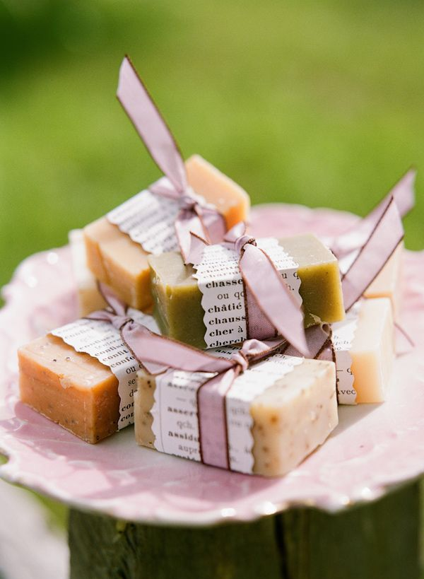 soap wedding favors // photo by Stacey Hedman