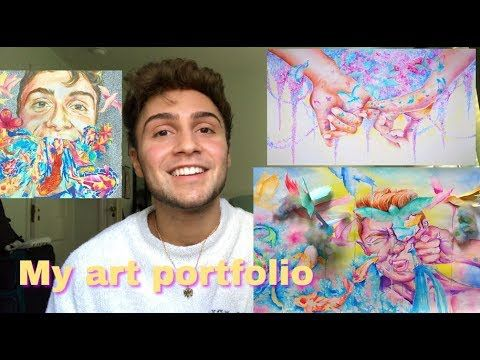 My Art Portfolio - Accepted RISD,Parsons,SAIC,MICA - YouTube