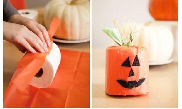Basta poco per decorare la casa ad Halloween, guardate cosa potete fare con un rotolo di carta igienica...sorprendente no? - #halloween #decorazioni #faidate #handmade