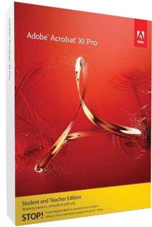 Make your job easier every day with Adobe Acrobat XI Pro software. Quickly create PDF files or PDF Portfolios. Intuitively edit PDF files from within Acrobat or convert them to Microsoft Word, Excel, or PowerPoint formats. Build forms in minutes with the new, included Adobe FormsCentral desktop application. And use guided Actions to automate document preparation.  Price: $119.00