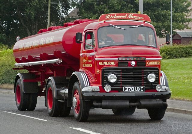 1958 Commer fuel truck