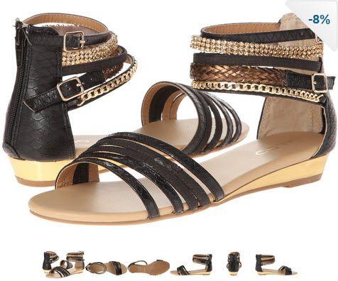 Sandale joase gladiator cu negru si auriu by ALDO Romania. Asta le-as purta la o rochie lunga negra cu accesorii aurii...sa fiu bronzata :)