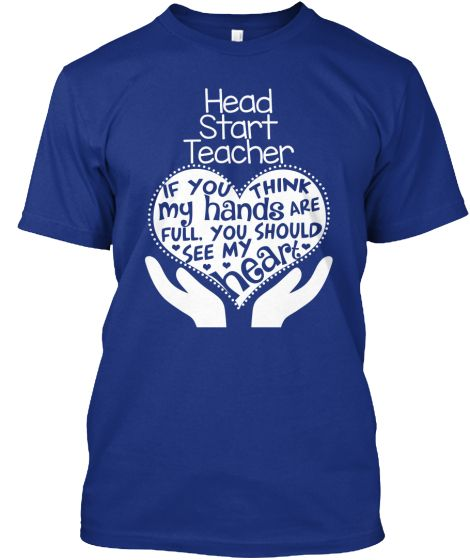 Head Start Teacher T-shirt - Full Heart