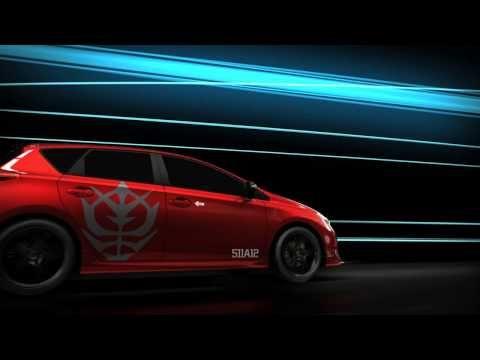 Toyota's Gundam Car #Video