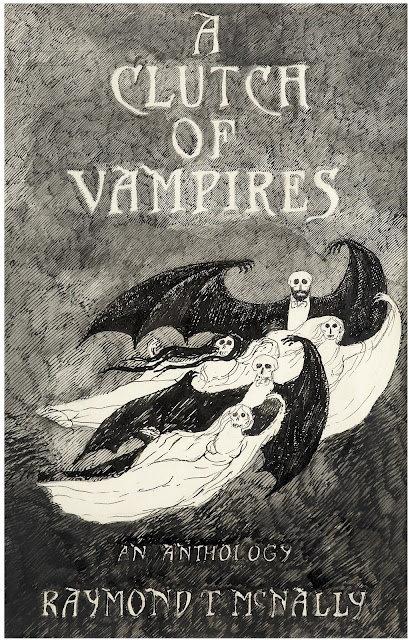 Edward Gorey illustrated A Clutch of Vampires, anthologized by Raymond T. McNally