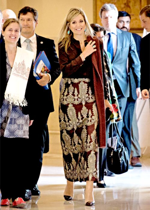 9 February: Day one of Queen Máxima's three-day working visit to Pakistan.