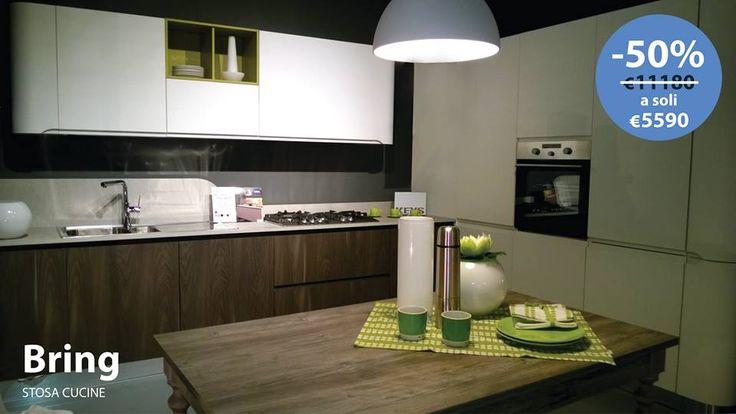 Anche BRING di Stosa Cucine è SCONTATA DEL 50% TUA A SOLI 5590,00 € !