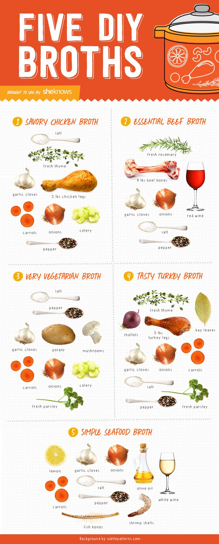 5 Easy DIY broths for your new favorite soup (Infographic)