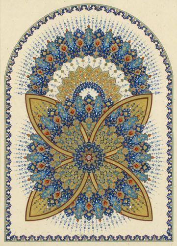 MATIN LUMINEUX: L'art Arabe et Persan: part 1