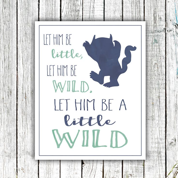 Printable Nursery Art, Little Boy, Monster, Let him be a little wild, Navy, mint, 8x10 Digital download #525 by ZoomBooneCreations on Etsy https://www.etsy.com/listing/479296943/printable-nursery-art-little-boy-monster