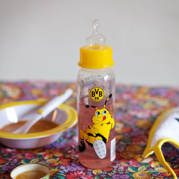 Just the right utensil for the smallest black and yellow fans.  The BVB baby bottle has an EMMA motif and is great for at home or on the road. EN http://www.bvbfanshop.com/stores/bvb/en/product/bvb-baby-bottle/150982 DE https://shop.bvb.de/artikel/BVB-Babyflasche-12705000?utm_source=pinterest&utm_medium=pin&utm_campaign=12705000