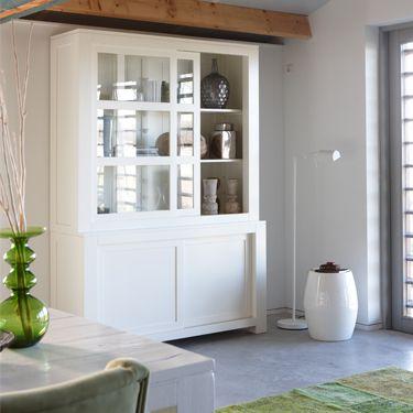 25 beste idee n over servieskast decoratie op pinterest servieskast decor beschilderd - Decoratie eetkamer hok ...