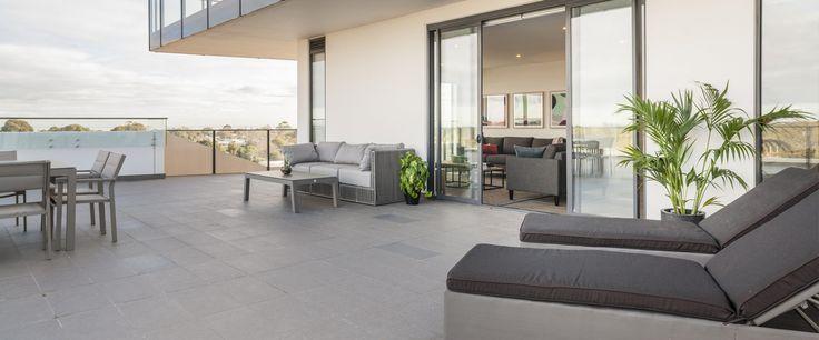 Caroline Serviced Apartments Sandringham - Three bedroom premium apartment balcony