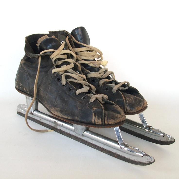 Vintage speed skates