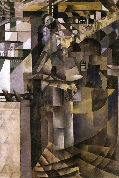 Life in the Grand Hotel (1914) Kazimir Malevich