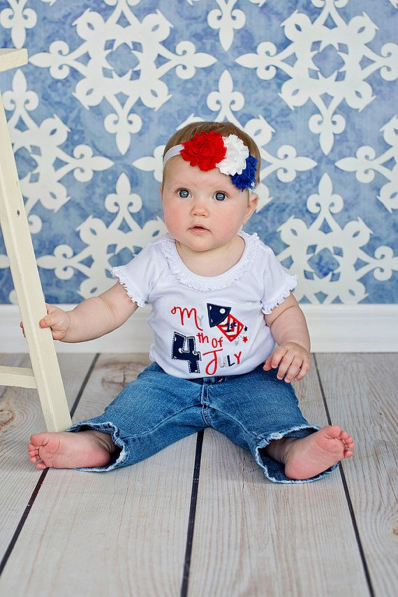 my first 4th of july outfit girl